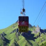 Met een skilift naar de top van de Puy-de-Sancy