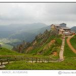 Foto gemaakt op de top van Puy-de-Sancy