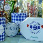 De zeshoekige pastilles van Vichy